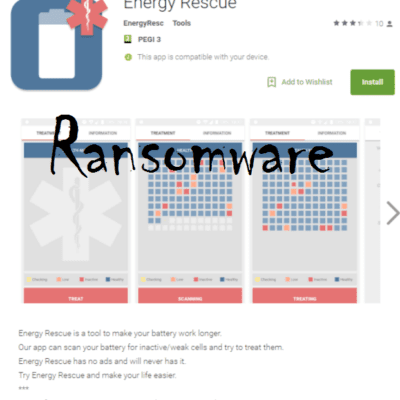 Charger Ransomware